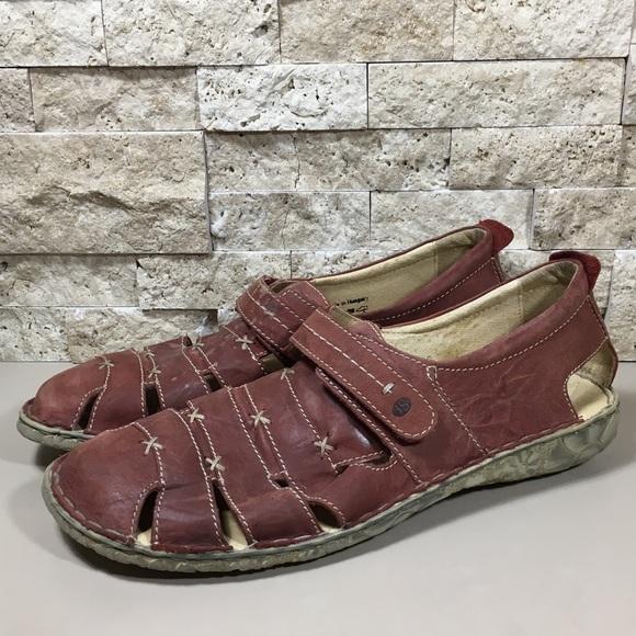 5dbbd99f1fe4f Josef Seibel Shoes - Josef Seibel Sandals Ida Leather Comfort Shoes 42